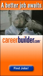 career builder advertising 171x300 PETA Targets CareerBuilder Ads with Angelica Hustons Help