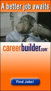 career builder advertising 171x300 PETA Targets CareerBuilder Ads with Angelica Hustons Help