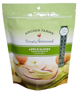Archer Farms Simply Balanced Apple Slices Freeze Dried Fruit