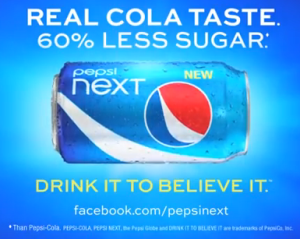 pepsi next Pepsi Launches New Tagline for Pepsi Next