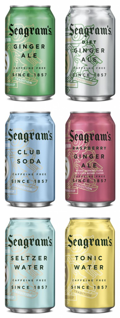 seagrams can metallics 388x1024 Seagrams Rebranding Focuses Sophistication