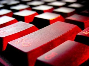 keyboard red Only 1 out of 4 B2B Companies Track and Follow up on Consumer Social Media Comments