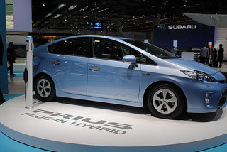 toyota prius green brand