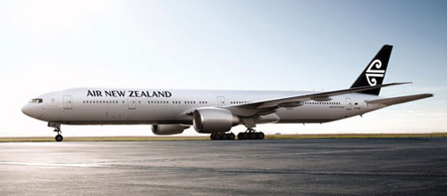 air new zealand new plane