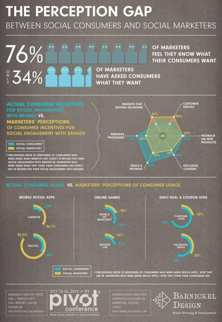 perception gap infographic