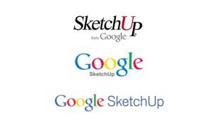 SketchUp logos Google
