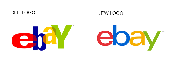 ebay old and new logo