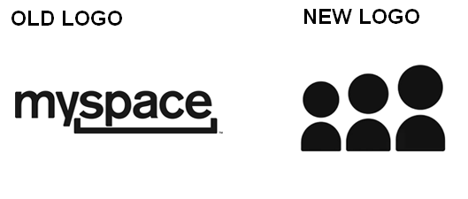 myspace logo 2012 old and new