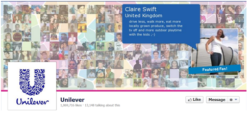 Unilever fb How To Create The Perfect Corporate Facebook Page