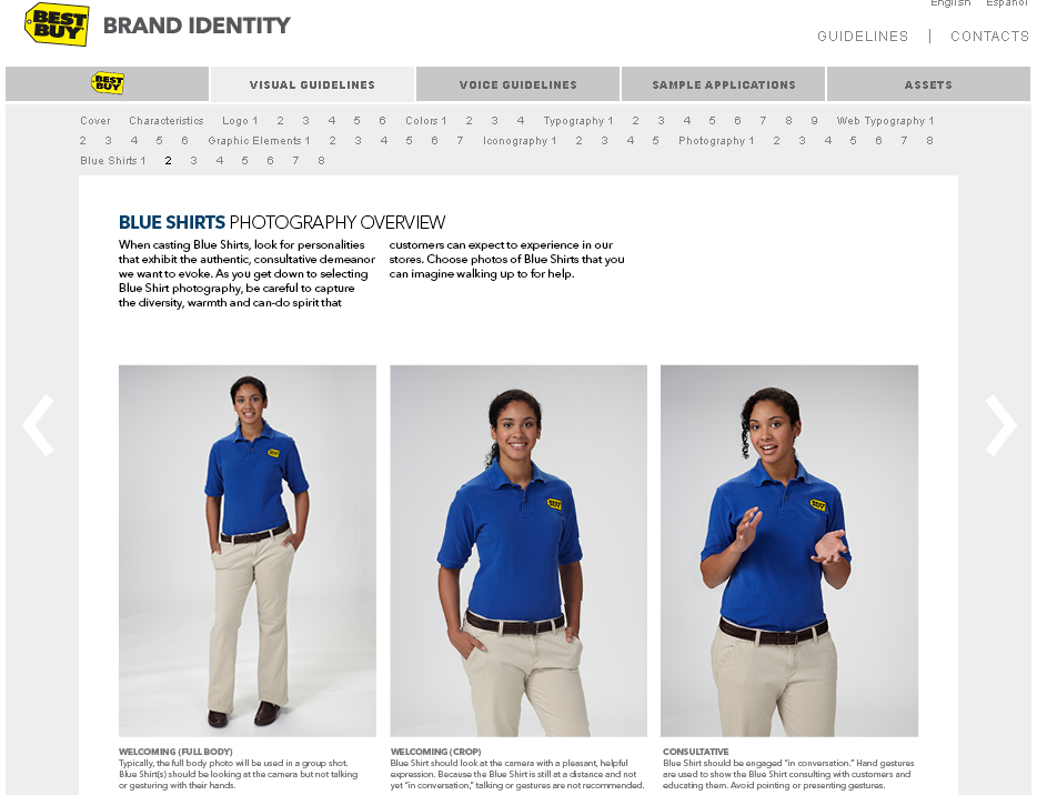 best buy brand blue shirts 10 Ways Best Buy is a Brand to Benchmark for Brand Identity Guidelines