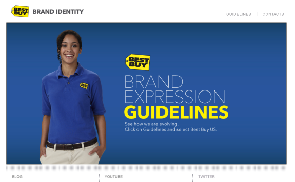 best buy brand identity website home 10 Ways Best Buy is a Brand to Benchmark for Brand Identity Guidelines