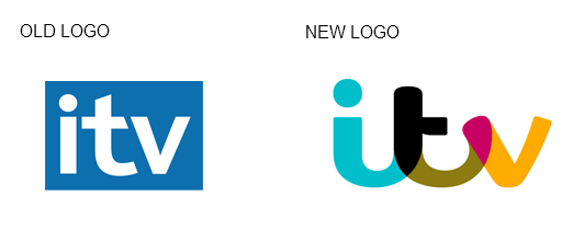 itv logo old and new