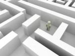 barriers maze