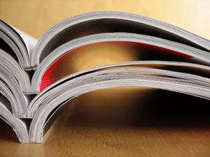 pile of annual reports