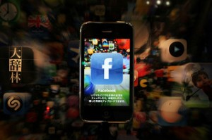 facebook iphone 300x199 Research Finds Social Media Marketing Campaigns Are Too Short Sighted