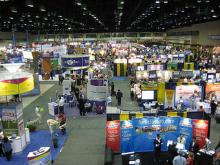 trade show floor
