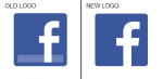 facebook f logo redesign