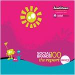 social brands 100 2013 report cover