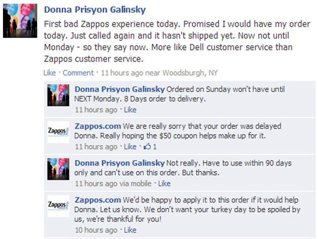 Example customer service script
