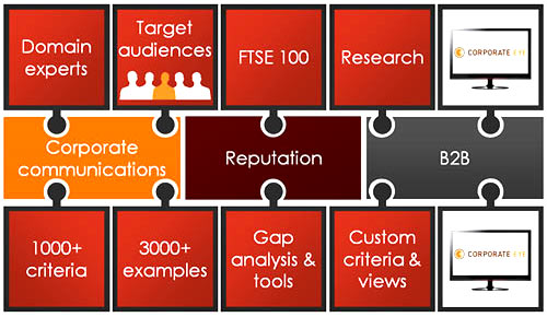 corporate eye website benchmark tool