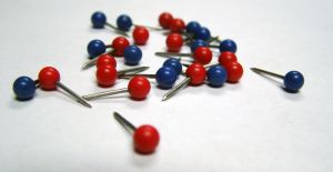 push pins pinterest