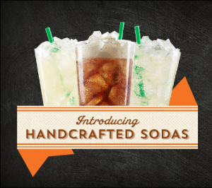 starbucks handcrafted sodas