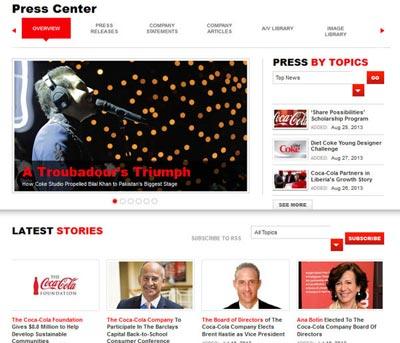 coca-cola-press-releases-s