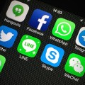 whatsapp line skype social apps on iphone