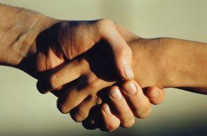 handshake persuade