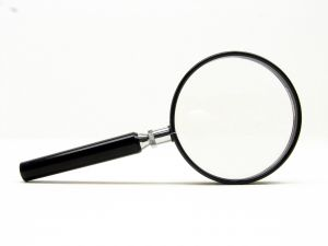 magnifying glass viewability