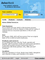 Aviva contact directory