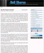 Dell Shares: IR blog