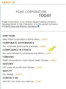 PGE Ethics