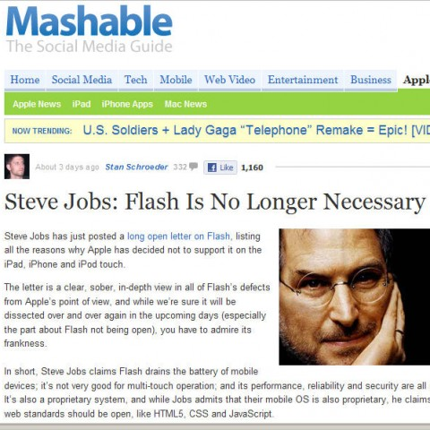Farewell to Flash? (And Why That Matters)