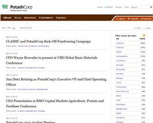 Potash News