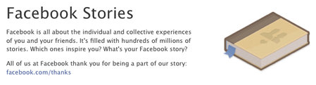 Facebook Asks Users to Share Stories about How Facebook Impacted Their Lives