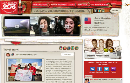 Coca-Cola Finds Success With Its Social Media Project