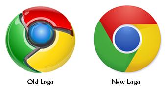 Google Breaks Web 2.0 Logo Design Trend with New Chrome Logo