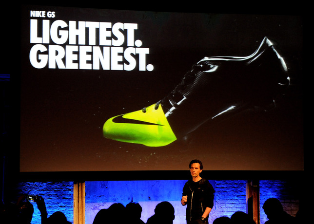 """Recycled Shoes from Nike Bring """"Being Green"""" to a New Level"""