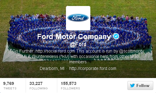 twitter ford