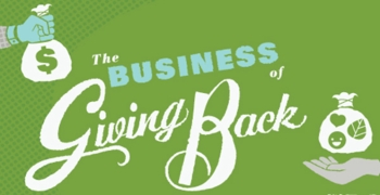 business of giving back
