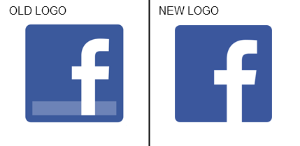 Facebook and Apple Leading the Way Away from 3D Logo Design