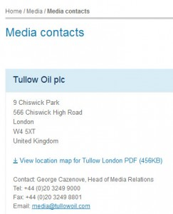 tullow-oil-media-contacts
