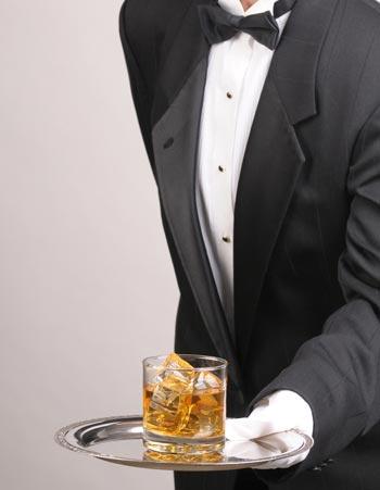 servant attitude - butler