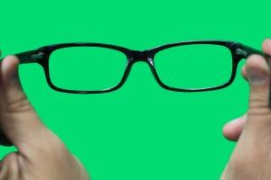 visual branding eyeglasses