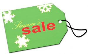 holiday shopping sale